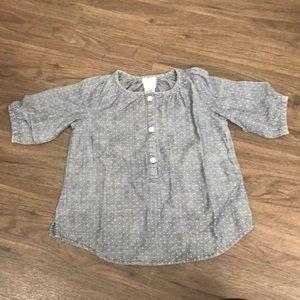 Denim shirt Crewcuts size 2